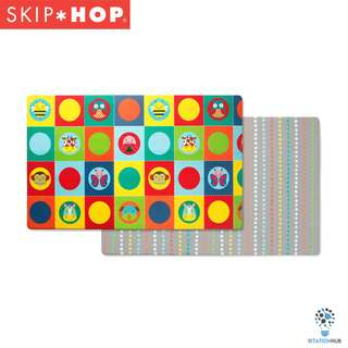 Skip Hop Doubleplay Reversible Playmat | Zoo/Multi Dots [BG-SH243101]