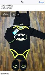 Batman suit 1 set