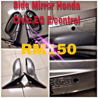 Side mirror honda civic eg