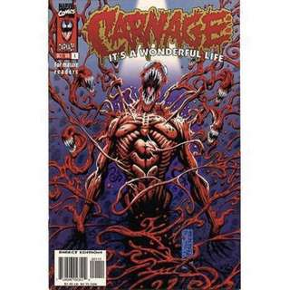 CARNAGE: IT'S A WONDERFUL LIFE #1 (1996) First issue! One-shot