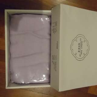 Nursing cover brand new light purple