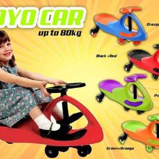 Yoyo Car black wheel  Rm69 Inc pos semenanjung  Pm Wasap 0176725125