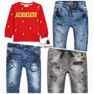 KIDS/ BABY - Crew/ Jeans