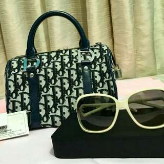 Christian Dior Bag with free CD Sunglasses