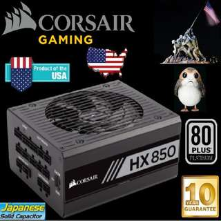 Corsair HX850 850W 80 Plus Platinum Power Supply..
