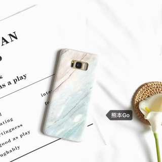 S8 S7 Samsung Marble Coral Elegant casing