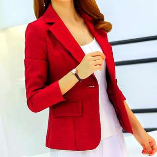 Vero Moda Red Blazer