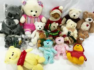 Soft Toys all kinds of bears