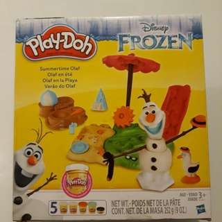 BNIB disney Summertime Olaf Play-Doh