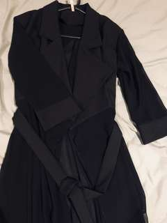 CocoLàtte Sheer Trench Coat