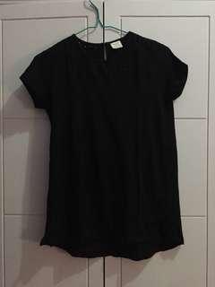 ZARA GIRLS (for kids) black shirt
