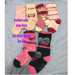 Mother Care, osh kosh & Disney Kaos kaki Babies