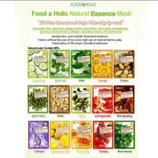 Food a holic 3d mask