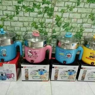 Multifunctional mini electric pot