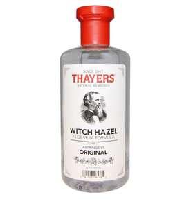 🚚 Thayers, Witch Hazel, Aloe Vera Formula, Alcohol-Free Toner, Astringent Original, 355ml