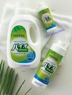 妮芙露環保潔淨洗劑 Nefful bio clean detergent