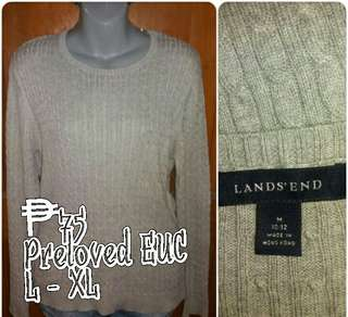 Land's End Knit Pullover
