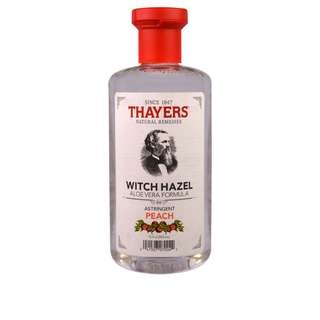 🚚 Thayers, Witch Hazel, Aloe Vera Formula, Alcohol-Free Toner, Astringent Peach, 355ml