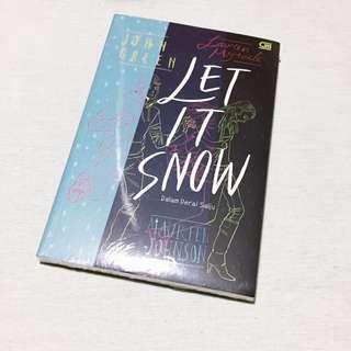 "Novel ""Let It Snow"" by John Green"
