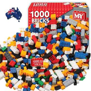 Australia 1000 Piece Building Block Set  Rm69 Inc pos semenanjung  Pm Wasap 0176725125