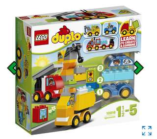 Brand New: LEGO Duplo My First Cars and Trucks