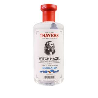 🚚 Thayers, Witch Hazel, Aloe Vera Formula, Medicated, Topical Pain Reliever, 355ml