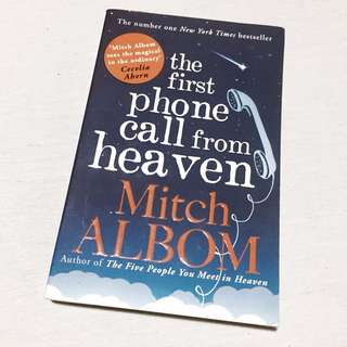 "Novel ""The First Phone Call From Heaven"""