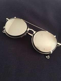 復古墨鏡 可拆式 古著