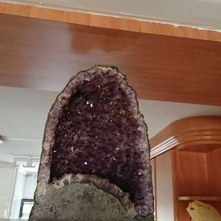 Big Natural amethyst