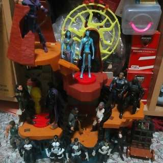 Avengers,Avatar & POTC.