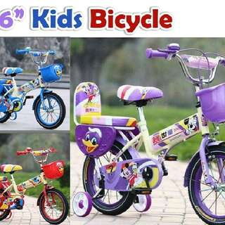 "16"" Kids Bicycle(5-12 year) (semi pasang)  Rm155 Inc pos semenanjung  Pm Wasap 0176725125"