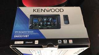 Kenwood DNX531VBT for VW