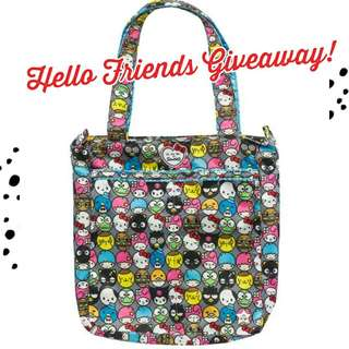 HELLO FRIENDS GIVEAWAY