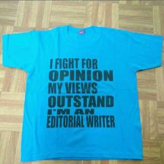 [50% OFF] Editorial Writer Tee