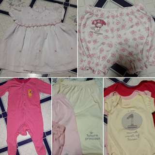1 to 6 mnths baby clothes take all sale!