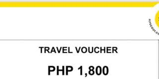Flyscoot/Tigerair Travel Voucher worth 1,800