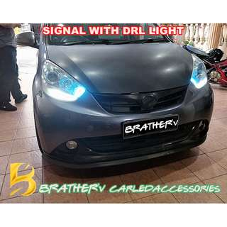 (5) LED Signal with DRL