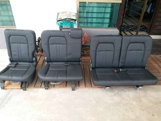 Rear Leather Seat for Honda BRV