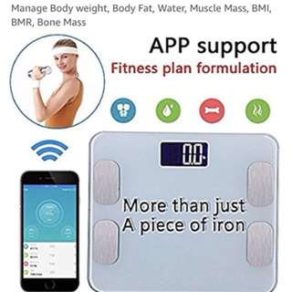 BLUETOOTH SMART SCALE - Weight, Fat Composition, Muscle Mass & more!