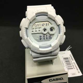 GSHOCK GD100WW-7 ALL WHITE