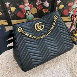 GG Marmont Leather Bag Gucci