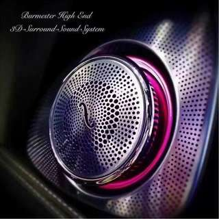 Mercedes W205 3D Burmester Tweeter