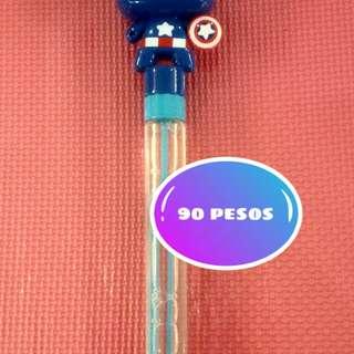 Captain America Bubbles for Kids