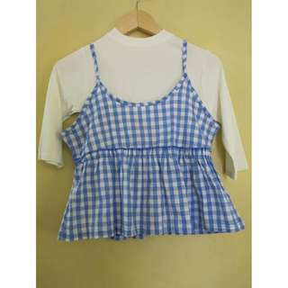 Blue Checkered Spag (Korean Style) AWPH