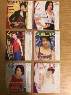 Gigi Leung 梁詠琪 紀念月曆卡