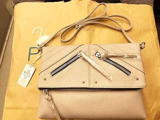 Brand New Auth Primark Beige Shoulder Bag