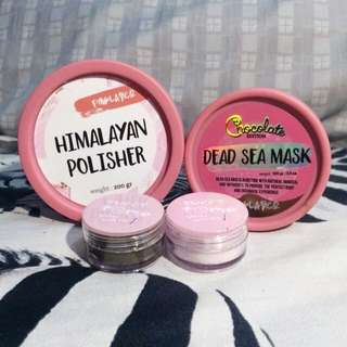 Dead Sea Mask Chocolate dan Himalayan Polisher