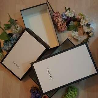 Gucci盒 黑白色收納紙盒