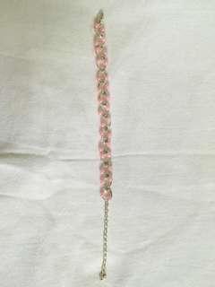 #Swap Pink Bracelet