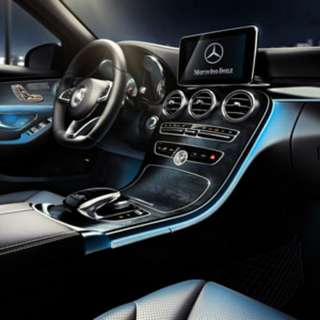 TriColor Ambient LED Lighting Kit for W205 C-Class and GLC